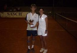 Cristian ai Campionati Italiani Under 13