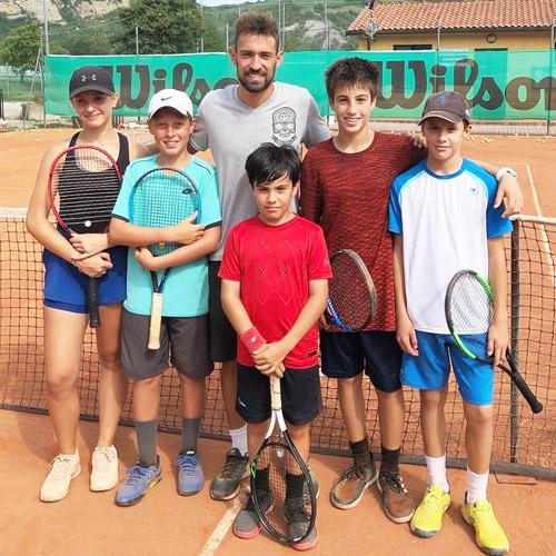 gruppo allenamenti tennis